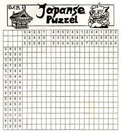 Japanse puzzel
