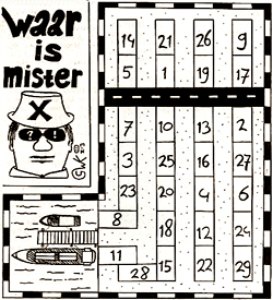 Mister X puzzel