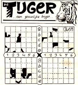 Tijger legpuzzel