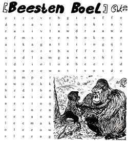 Gorilla puzzel