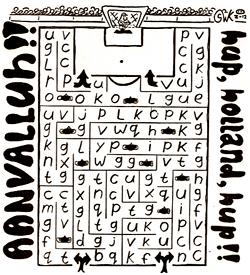 Aanvalluh voetbal puzzel