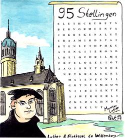 Maarten Luther puzzel