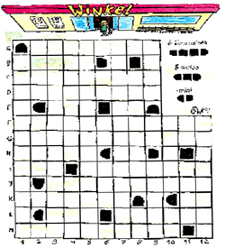 Ingesneeuwd puzzel