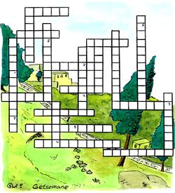Getsemane Goede Vrijdag puzzel