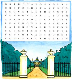 Huis ten bosch puzzel