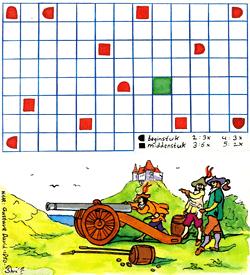 Kanon zeeslagje puzzel