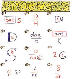 Droedels puzzel