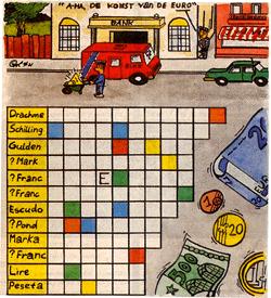 Komst Euro puzzel