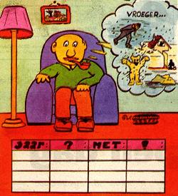 Opa vertelt winter logisch raadsel
