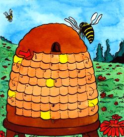 Bijenkorf puzzel
