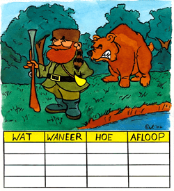 Grizzly beer logisch raadsel