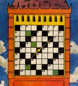 Big Ben kruiswoord puzzel