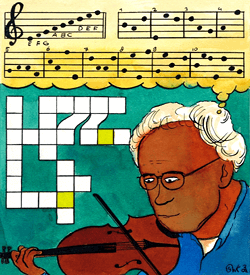Jannes Jammerhout notenschrift puzzel