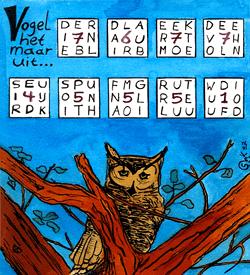 Vogelnaam puzzel
