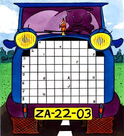 Vrachtwagen vervoermiddel puzzel