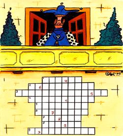 Koning voetbal puzzel