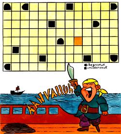 Zeerover Jan Kleijn zeeslagje puzzel