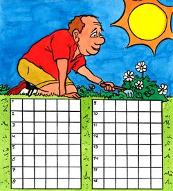 Tuinieren puzzel