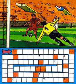 Voetbal puzzel