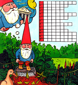 Kabouter Amelie puzzel reis