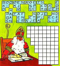 Sinterklaas pakhuis puzzel