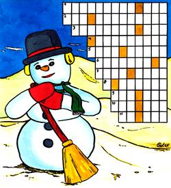 Job Sneeuwpop puzzel