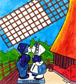 Delfts blauw puzzel