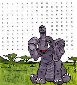 Fantje woordzoeker puzzel