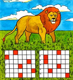 Leeuw puzzel