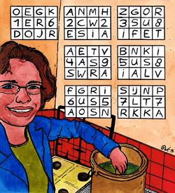 Schoonmaak puzzel