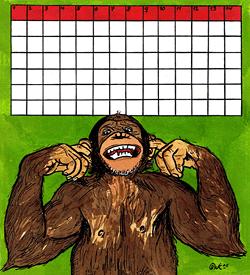 Voor aap puzzel