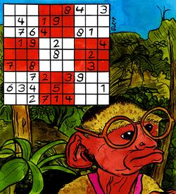 Brilaap sudoku puzzel