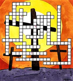 Golgota Pasen puzzel