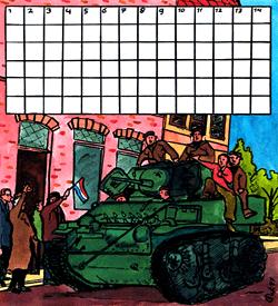 Bevrijding 5 mei puzzel