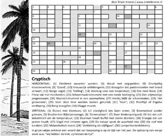 Cryptogram puzzel