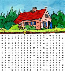 Jorrit Kelder woordzoeker puzzel
