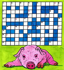 Knorretje big puzzel