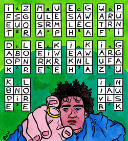 Frido Frodo paardensprong puzzel