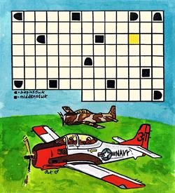 Luchtverkeer leider puzzel