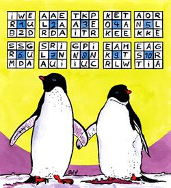 Pinguins puzzel