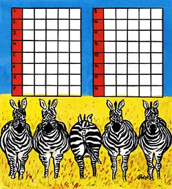 Zebra puzzel