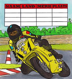 Motorsport puzzel