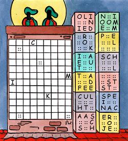 Proppiet Sinterklaas puzzel
