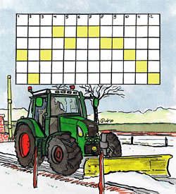 Sneeuwvrij puzzel