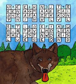 Wolf puzzel