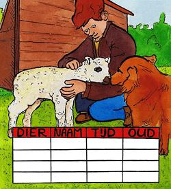 Kinderboerderij puzzel