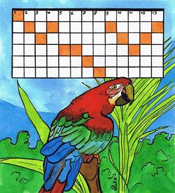 Papegaai puzzel