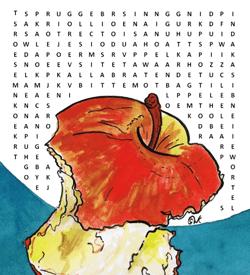 Appel boodschappen puzzel