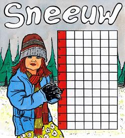 Evelientje sneeuw puzzel