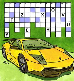 Lamborghini puzzel